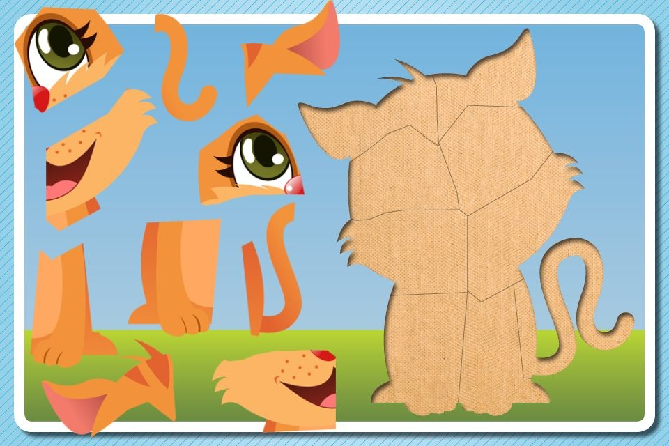 Screenshot Puzzle For Toddlers – A fun and educational game for kids & toddlers